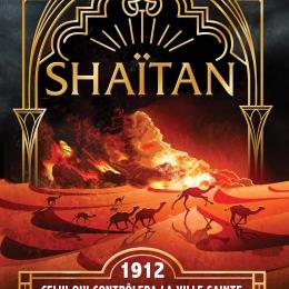 Shaïtan. Série limitée de 130 exemplaires d'auteur dédicacés.